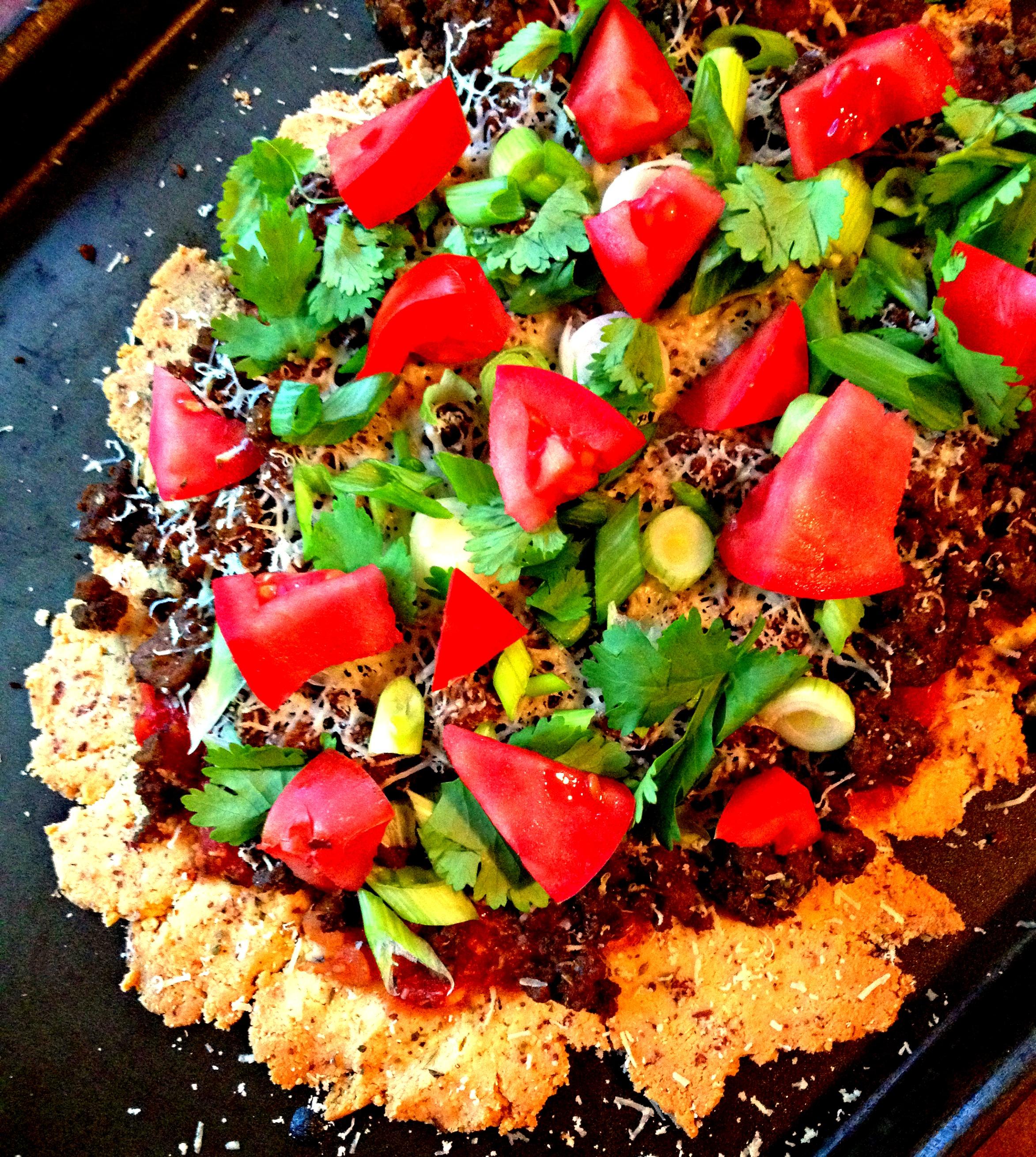 Grain Free Mexican Flatbread - Happy Healthnut