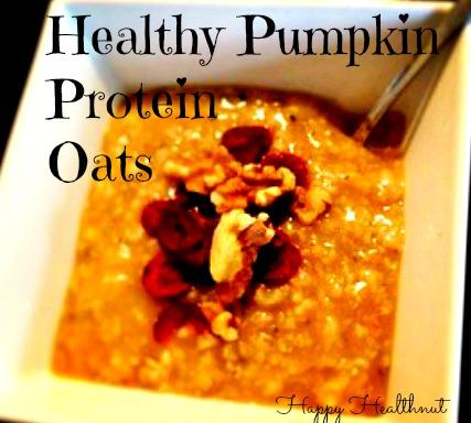 healthypumpkinproteinoats
